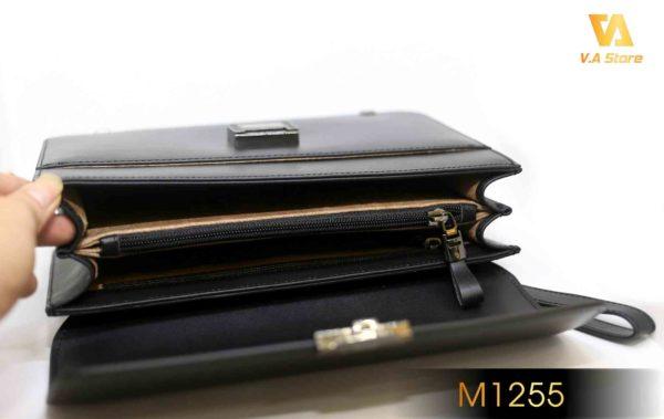 Clutch bag cho nam MontBlanc M1255 Đen