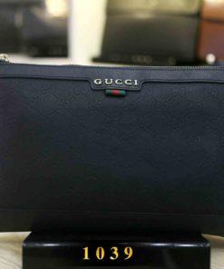 Ví Clutch dành cho nam Gucci 1039 Đen
