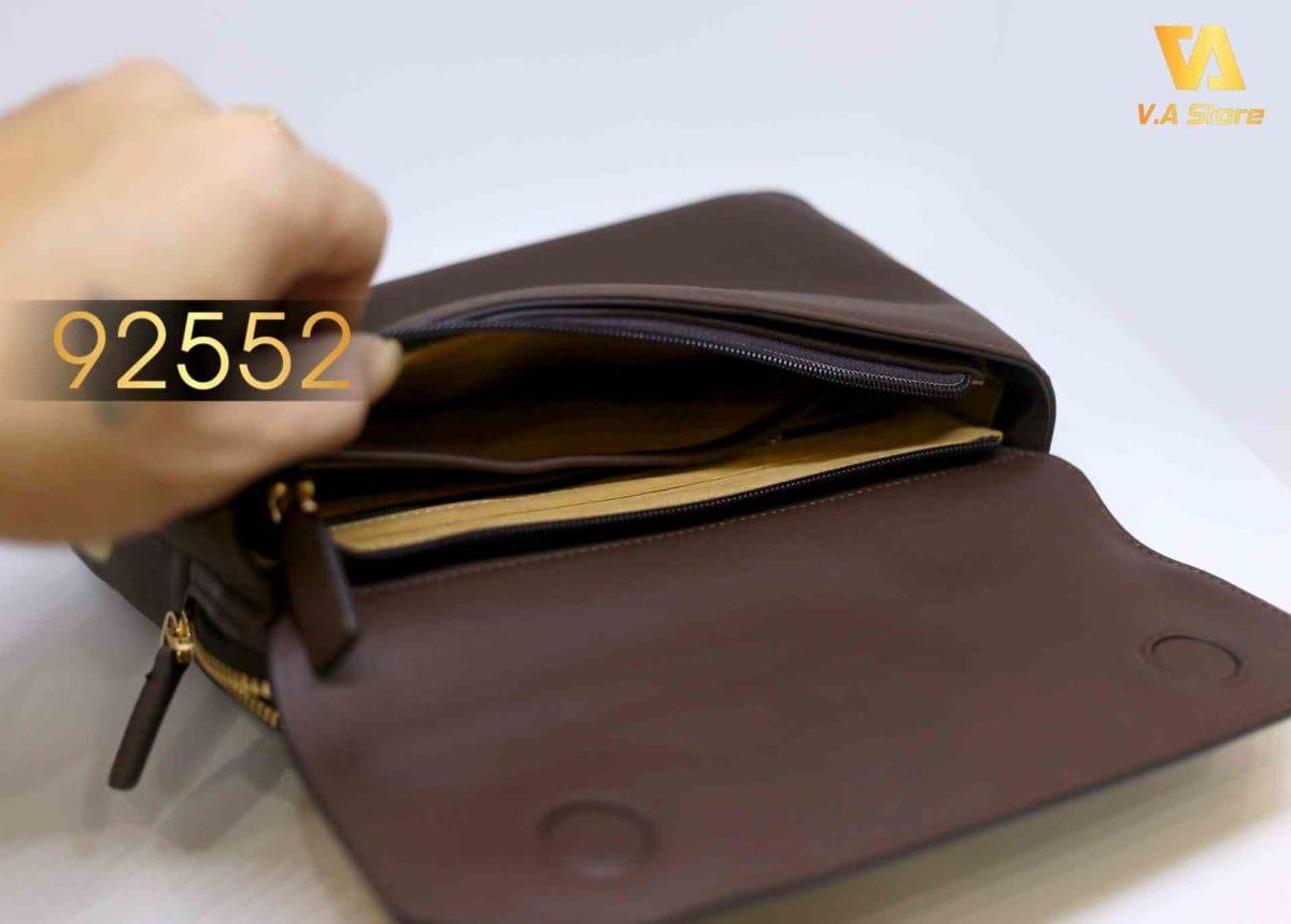 Clutch cầm tay chất lượng cao nam Boshi 92552