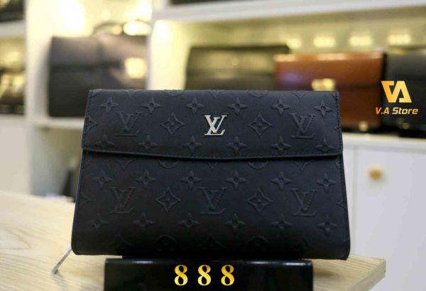 Ví Clutch Da Nam Cao cấp Louis Vuitton 888