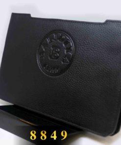 Ví Clutch nam cao cấp logo đẹp Balidiya 8849