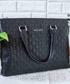 Cặp da Công sở Gucci 000002 Đen