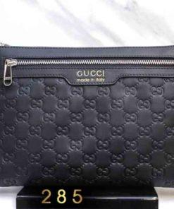 Ví clutch da Nam thật hàng hiệu Gucci 285