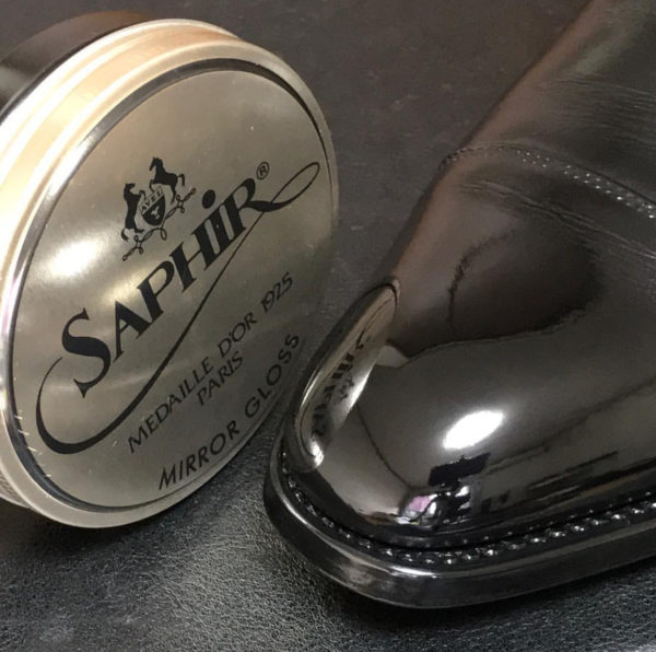 Sáp đánh bóng giày da LCA hộp 50ml của hãng Avel