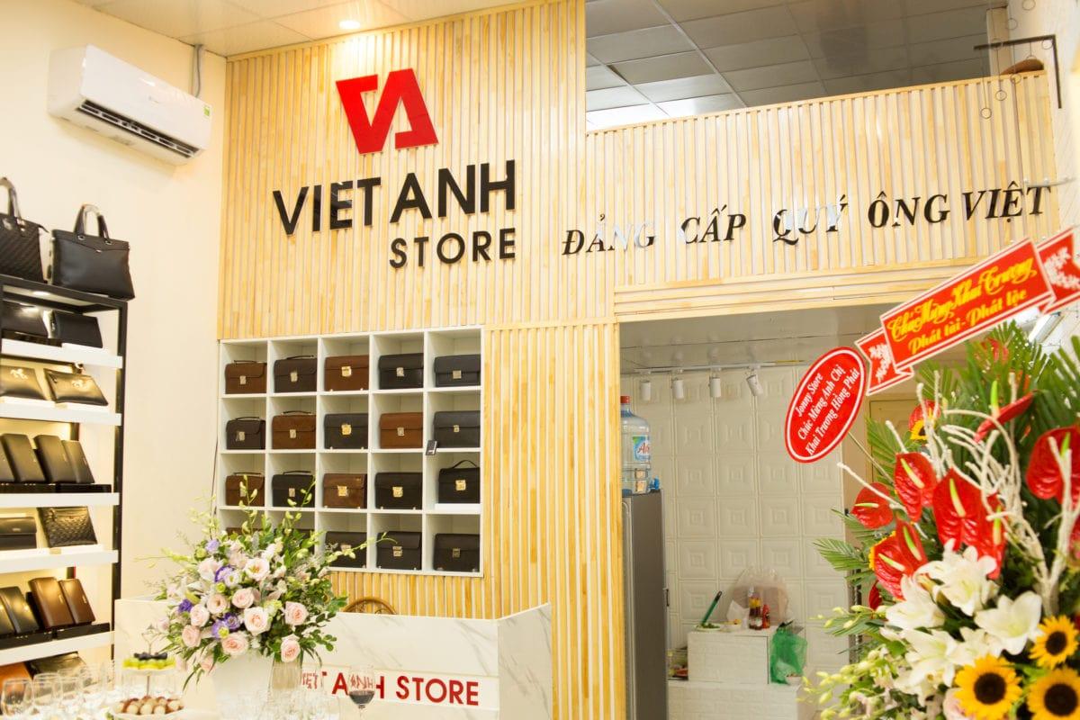 Khai trưowng Việt Anh Store