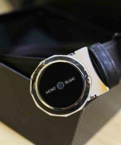 Thắt lưng da nam thời trang khóa hợp kim MontBlanc MB02
