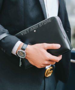 Ví Clutch cầm tay chất lượng cao cấp MontBlanc 1257