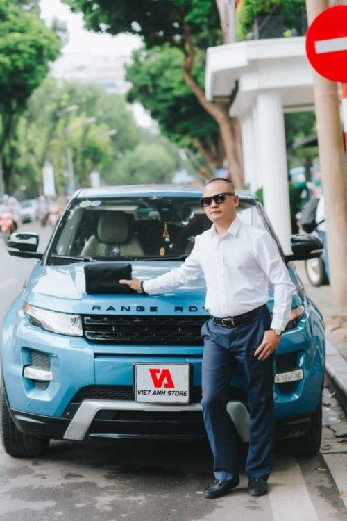 Chân dung ông Võ Việt Anh, nhà sáng lập thương hiệu Việt Anh Store