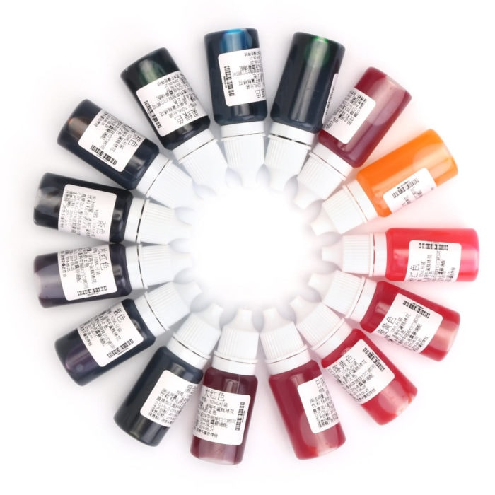 4 tone màu cơ bản Dyes