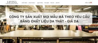 Xưởng sản xuất đồ da giá rẻ Levina JSC