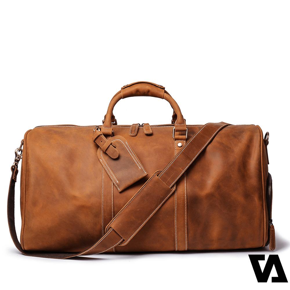 Túi da bò có giá thành vừa phải và độ bền cực kỳ lâu