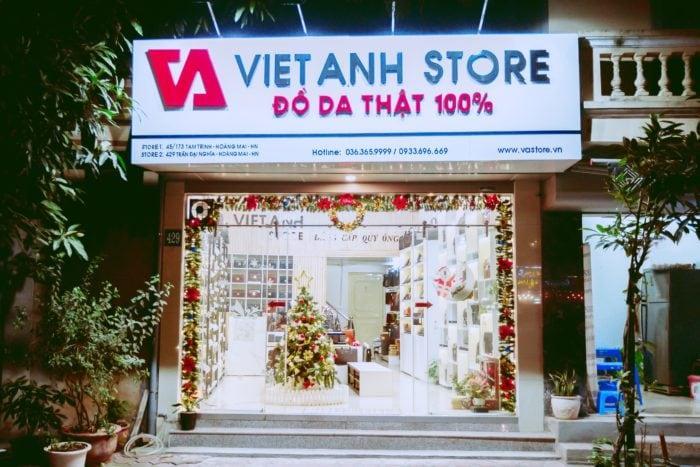 Việt Anh Store địa chỉ cung cấp đồ da thật 100%