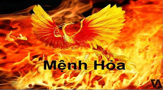 Người mệnh Hỏa mang sắc thái của ngọn lửa đang bùng cháy