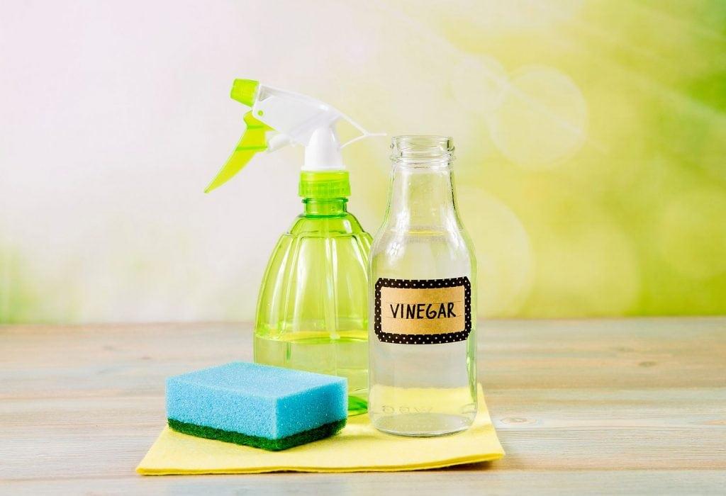 Dấm ăn được sử dụng phổ biến trong làm sạch túi da